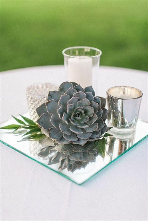glass centerpieces for wedding tables best 25 mirror wedding centerpieces ideas on