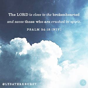 god comforts the grieving quot the lord is close to the brokenhearted and saves those