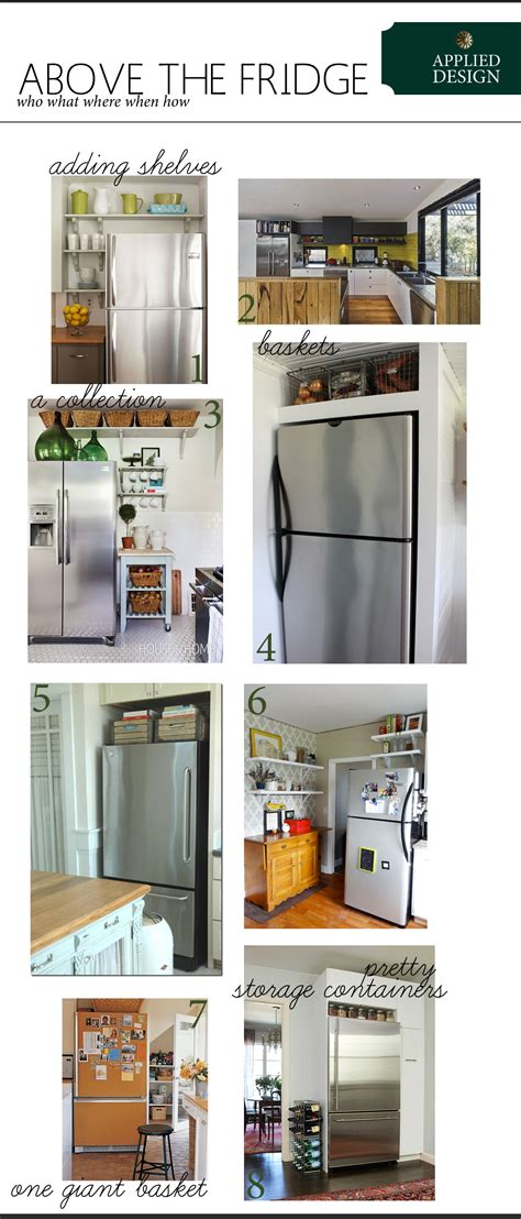 what to do with the space above your kitchen cabinets filling the space above your fridge the anatomy of design