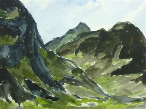 stunning paintings  sir kyffin williams      wales