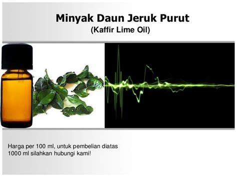 Minyak Atsiri Per Liter minyak daun jeruk purut