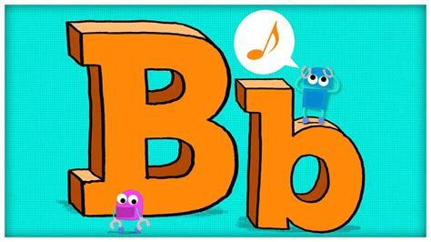 the b abc song the letter b quot b is for boogie quot by storybots