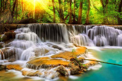themes mobile waterfall desktop wallpaper waterfalls