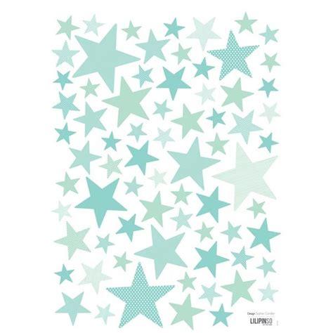Délicieux Dessin Chambre Bebe Fille #7: stickers-etoiles-mint.jpg