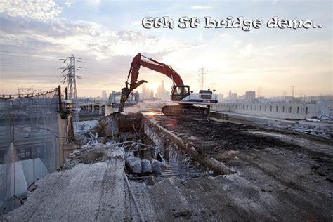 city announces new design for sixth street bridge kcet 6th street bridge demolition in downtown los angeles e