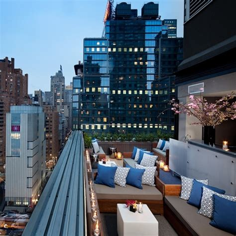 top 10 bars in manhattan above 6 at the thompson hotel new york city rooftop bars