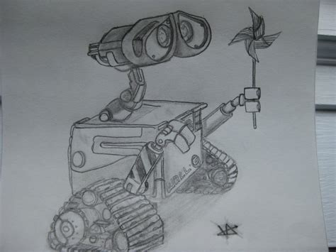 Wall E Sketches by Wall E Sketch By Wazaman0021 On Deviantart