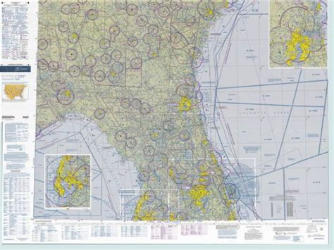 aeronautical sectional chart маршрутные карты files usa vfr terminal area chart