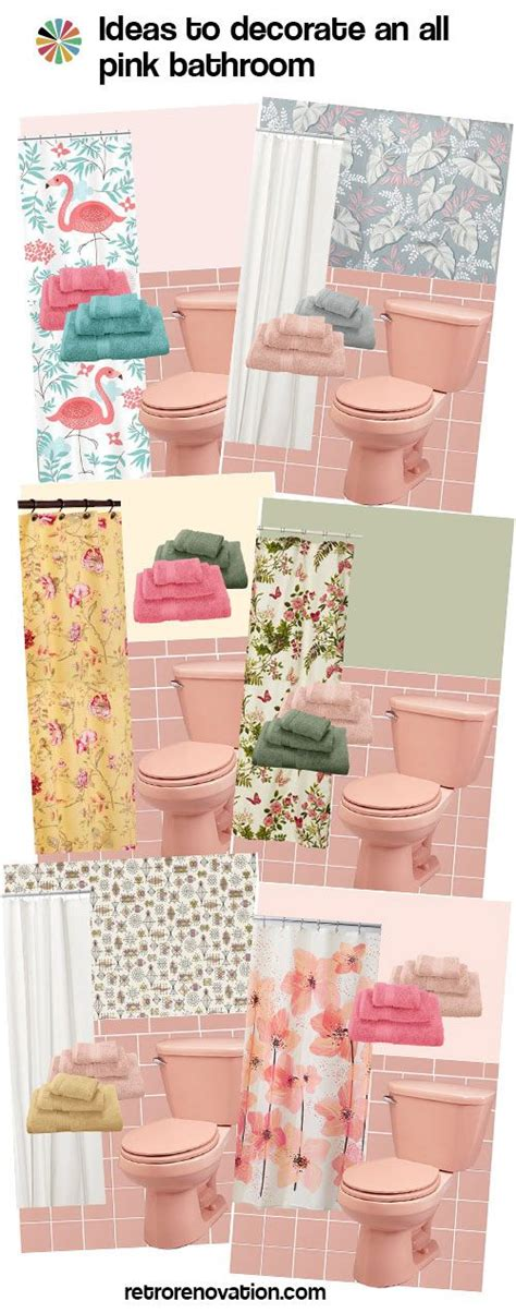 pink bathroom decorating ideas 13 ideas to decorate an all pink tile bathroom pink