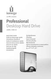 Iomega 34270 Prestige Desktop Hard Drive 500 Gb External