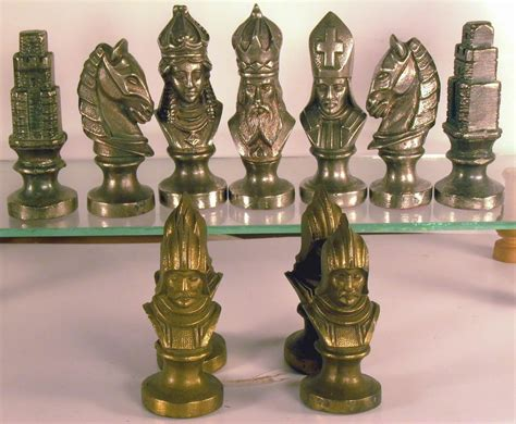 metal chess set metal sets welcome to the chess museum