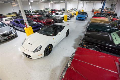 motorcar classics exotic classic car storage