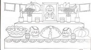 imagenes infantiles para colorear del dia de muertos dibujos para colorear d 237 a de los muertos