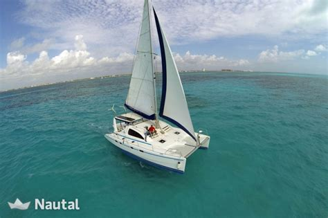 alquiler catamaran cancun alquilar catamar 225 n leopard 42 en marina playa tortugas