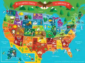 us map of new states interesting maps illustrated map of the us by maps