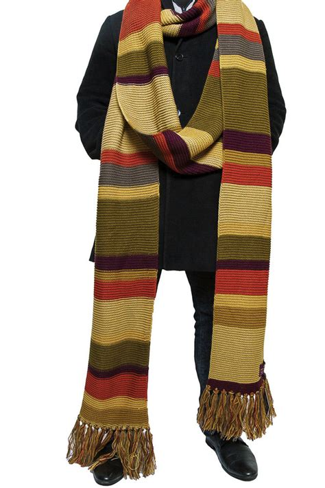 doctor who scarf season 16 official tom baker fourth