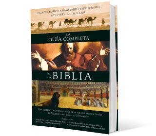 libro complete guide to bible la gu 237 a completa de la biblia