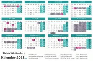 Kalender 2018 Ferien Thüringen Zum Ausdrucken Ferien Baden W 252 Rttemberg 2018 Ferienkalender 220 Bersicht