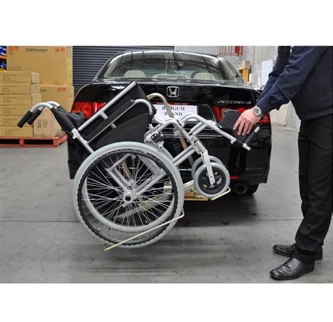 Wheelchair Car Rack by Vehicle Wheelchair Carrier Metro Mobility
