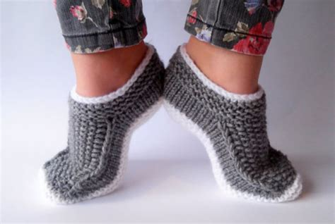 house socks slippers socks slippers women slippers warm slippers wool socks handmade knit handmade
