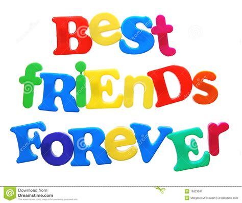 testo amici per sempre migliori amici per sempre fotografia stock libera da