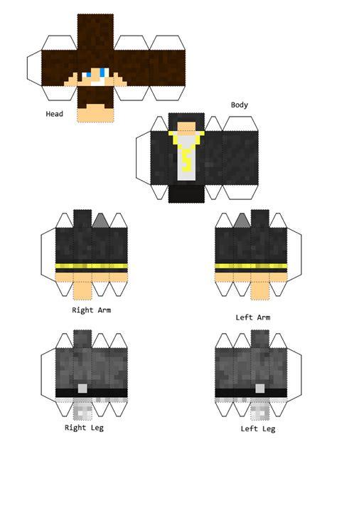 Mc Papercraft - multiplaygameguy papercraft by dziuu mc on deviantart