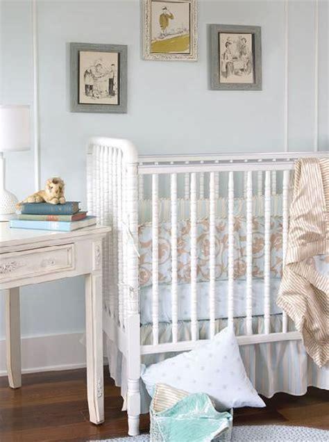 Shabby Chic Baby Crib by Nursery