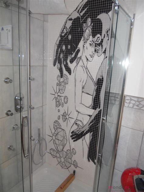mosaico per doccia diabolik in mosaico per doccia mondo mosaico italia