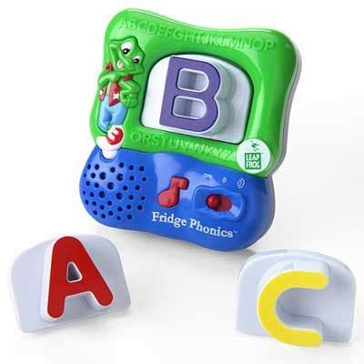 Amazon.com: LeapFrog Fridge Phonics Magnetic Alphabet Set ... Fridge Magnet Toys