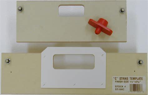 door strike template door latch door strike and latch template