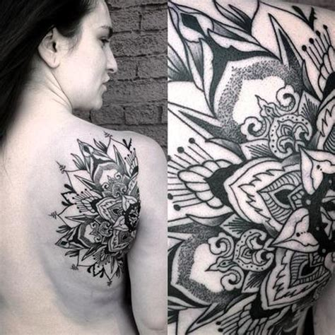 tattoo mandala realistic 58 amazing mandala shoulder tattoos