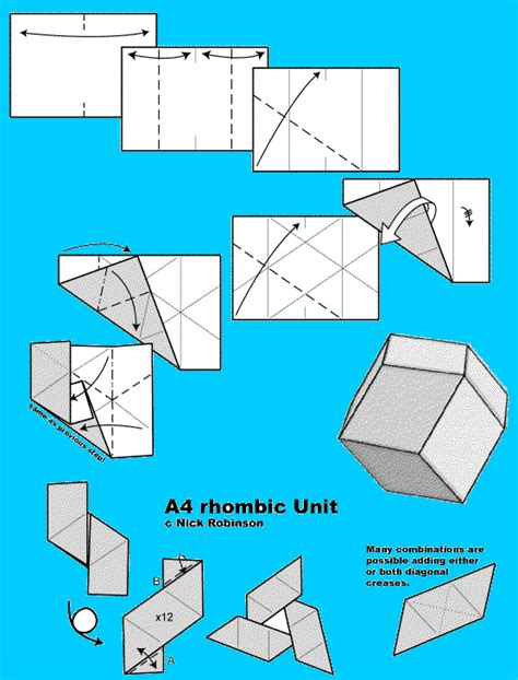 rhombic dodecahedron origami i leave in the picture of the 2001 calendar because i