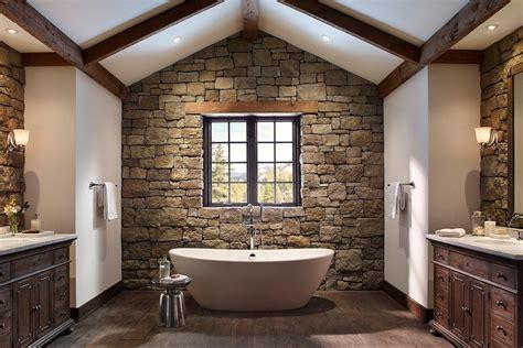 gambar desain kamar mandi nuansa alam terbaik
