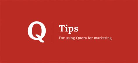 Why Mba In Marketing Question Quora by How To Use Quora As A Marketing Asset For Your Business