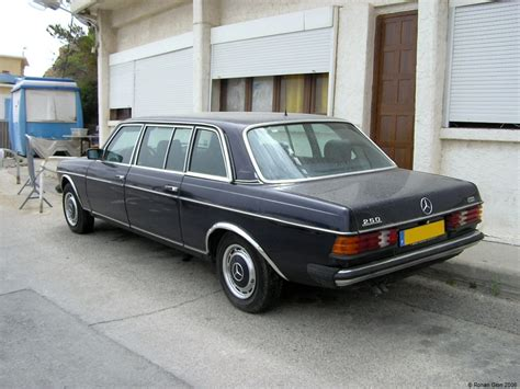 mercedes limo driven daily mercedes 250 limousine ran when parked