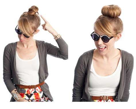 Sock Bun Hairstyles by 1000 Ideas About Sock Bun Hairstyles On Bun