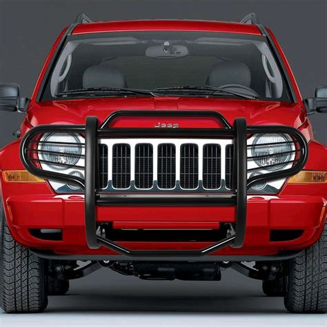 jeep front grill guard 02 07 jeep liberty kj front bumper protector brush grille