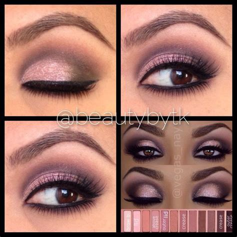 eyeshadow tutorial urban decay 3 urban decay naked 3 palette tutorial make up beauty