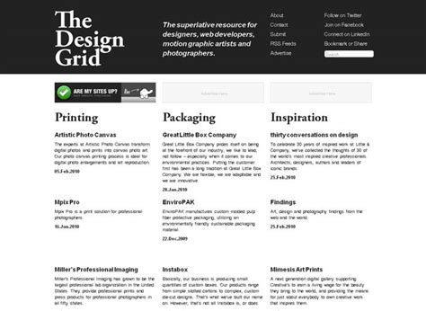 layout grid bookmarklet the design grid html5 gallery