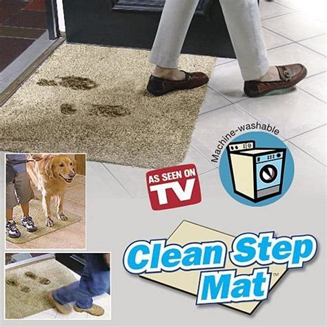 How To Clean Mat by New Clean Step Mat Free Shipping Water Absorbent