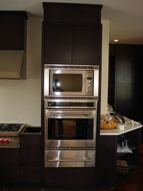 oven and microwave cabinet frameless oven and microwave cabinets