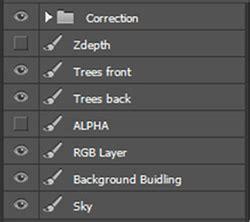 3ds max + photoshop tutorial: add billboard tree and