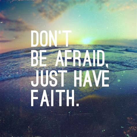 don t be a books don t be afraid just faith pocket fuel