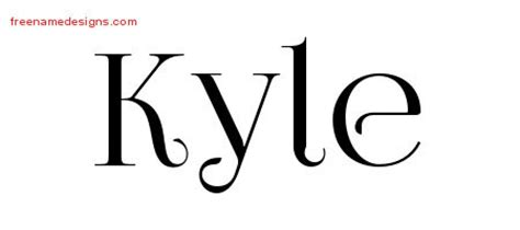 tattoo name kyle kyle archives page 2 of 3 free name designs