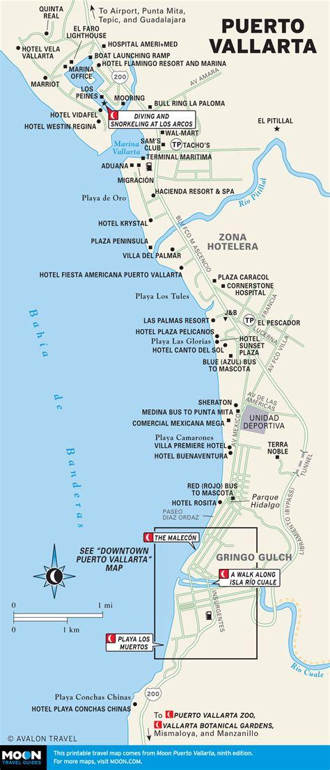 vallarta map of mexico map of vallarta jalisco mexico