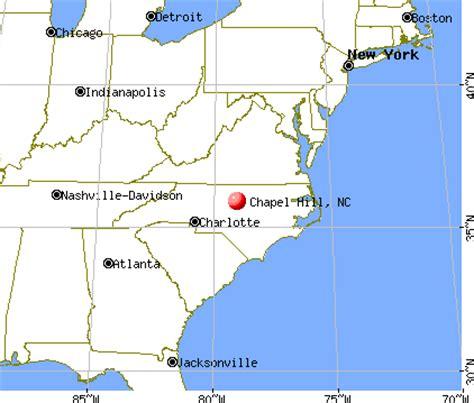 chapel hill carolina map chapel hill carolina nc profile population maps