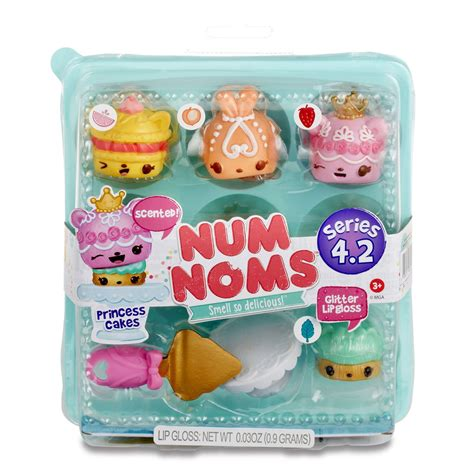 Num Noms Starter Pack Series 4 Cookies And Milk num noms series 4 2 princess cakes starter pack num noms
