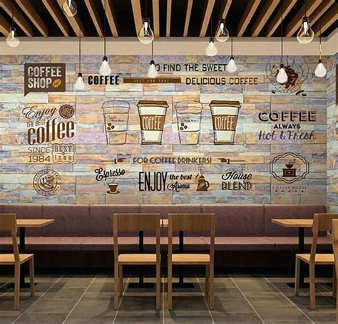 Awesome Large Kitchen Wall Art #2: Coffee-shop-decor-mural-photo-wallpaper-art-wall-decor-personalize-large-murals-restaurant-coffee-shop-store-backside-wall-paper-custom-size-in-wallpapers-from-home-coffee-shop-decoration-design.jpg
