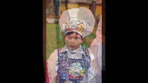 trajes de indio de material de desecho disfraces ecologicos vestidos con material reciclables