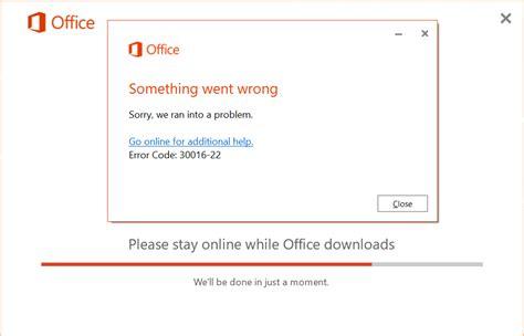 cannot uninstall office 2016 error 30180-4